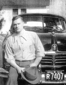 Igor Gouzenko at Camp X, 1948