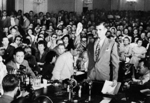 Alger Hiss at HUAC, August 1948